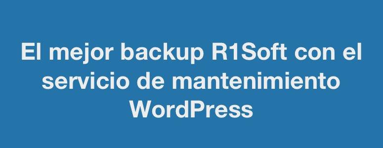 El mejor sistema de backup mantenimiento WordPress WooCommerce